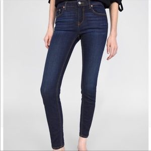 Zara Super Skinny High Rise Jeans